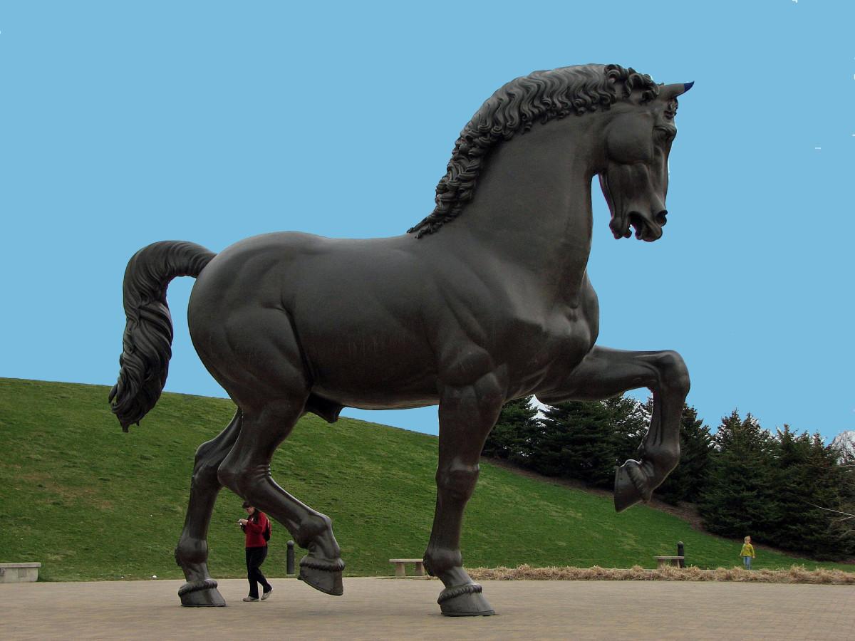 The Creation of Leonardo Da Vinci's Horse