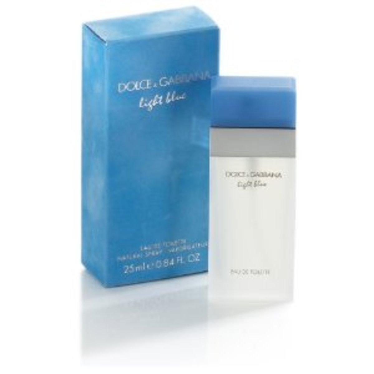 One of the best perfumes for women- Light Blue by Dolce & Gabbana.