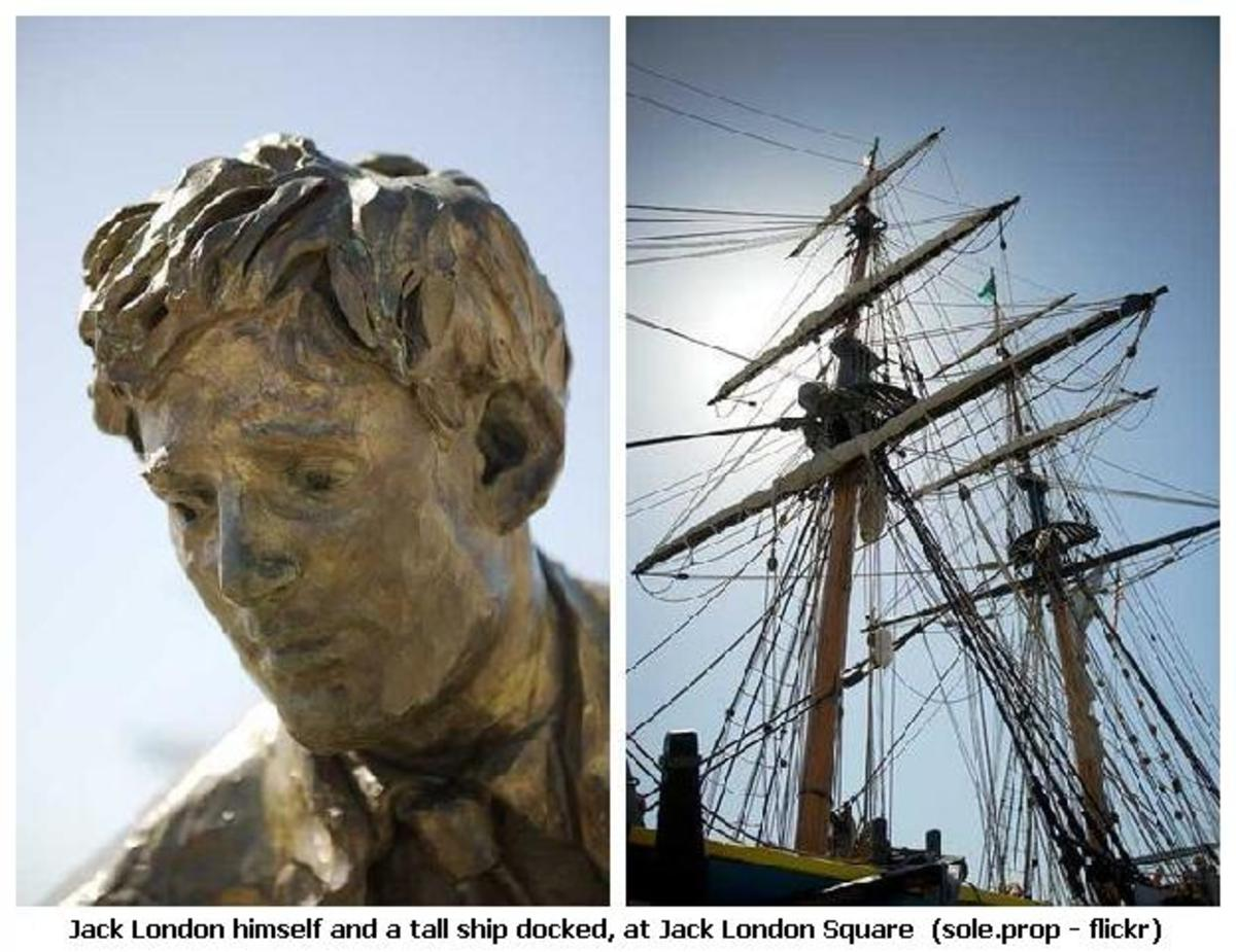 JACK LONDON--SHIP OWNER--OYSTER PIRATE