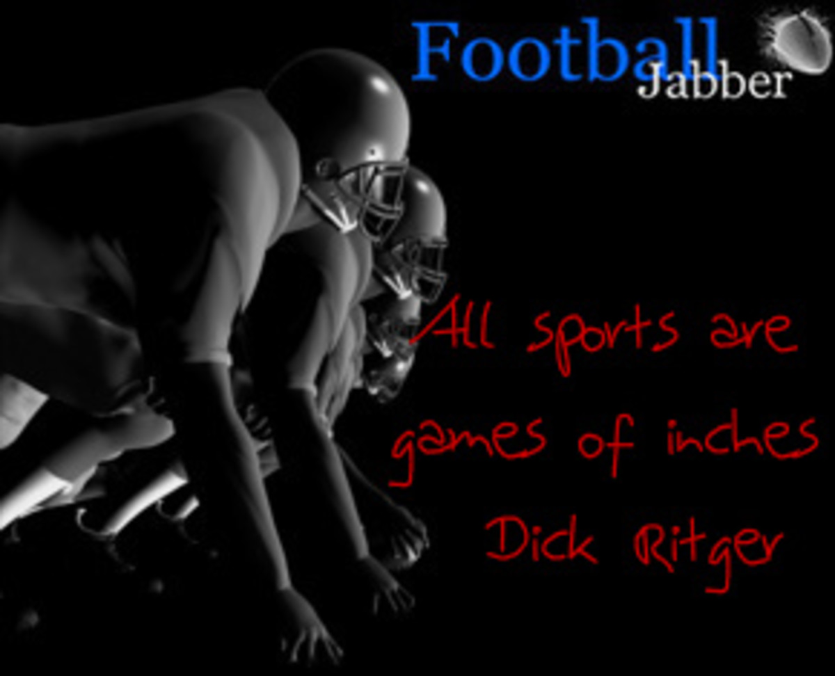 all sports are games of inches