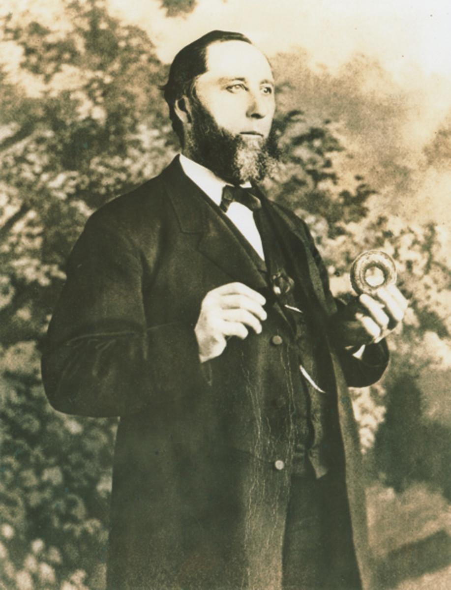 Captain Hanson Gregory  1832-1921