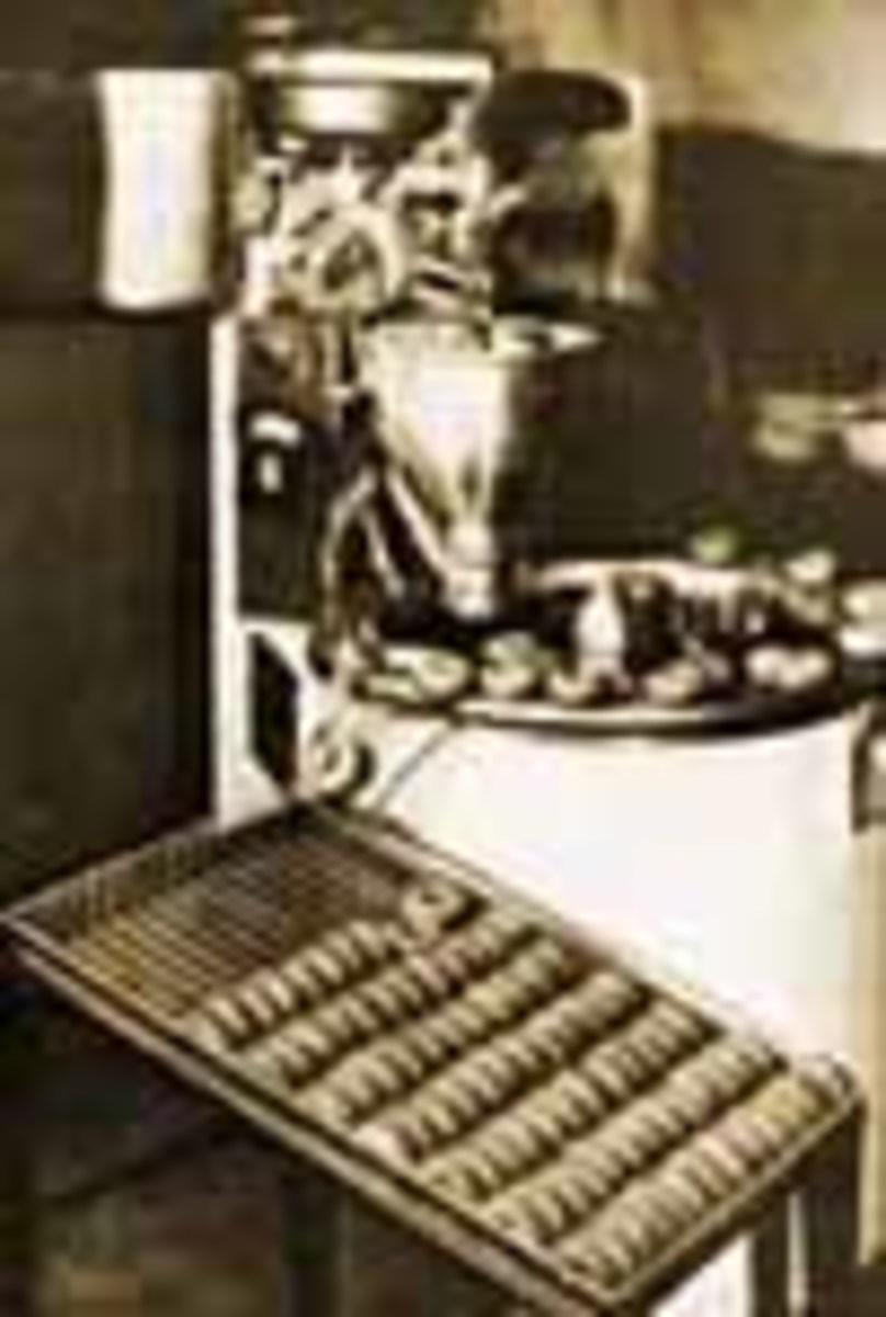 First Doughnut Machine