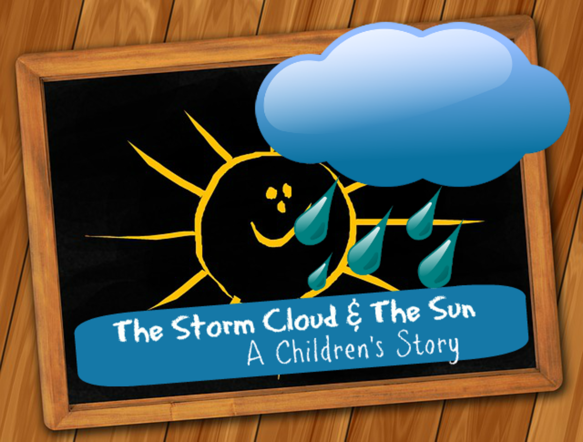 For Children - Story of a storm cloud and a sun.
