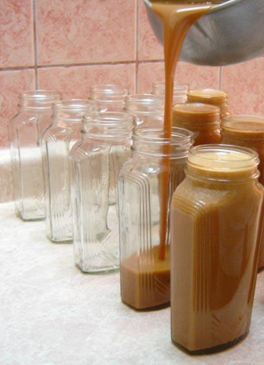 Cajeta is a Mexican confection of thickened syrup usually made of sweetened caramelized goats milk.