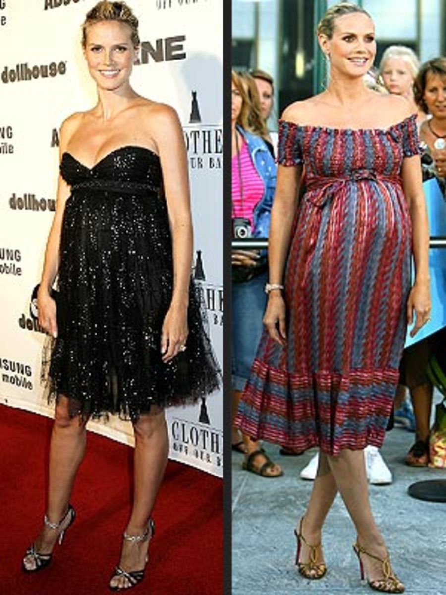 Beautiful and Sexy Pregnant Celebrities In Style