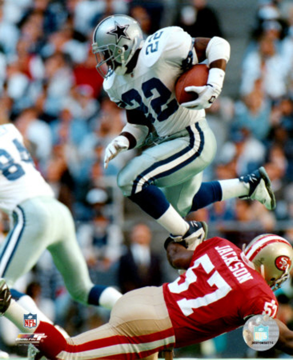Emmitt Smith doing his thing
