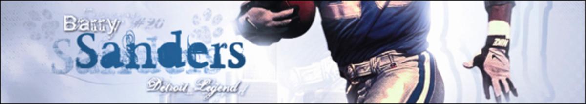 Detroit Lions Greatest Running Back - Barry Sanders