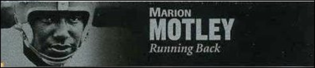 Running Back Marion Motley - the Jackie Robinson of Football