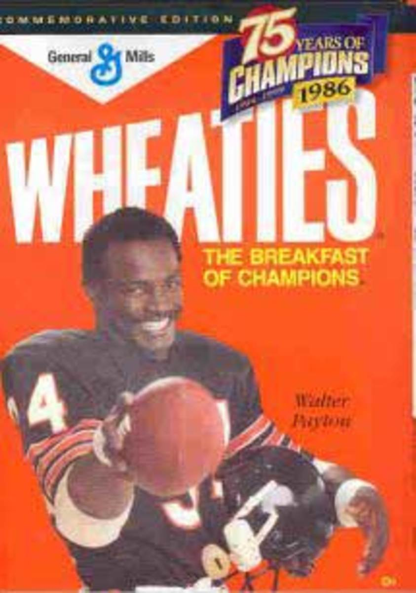 Wheaties and Walter Payton