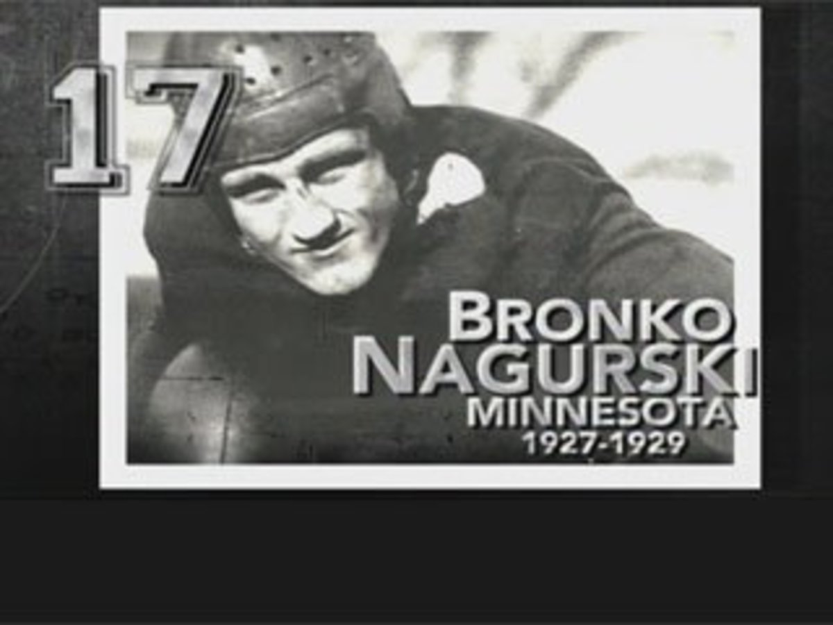 Bronko Nagurski  courtesy of espn