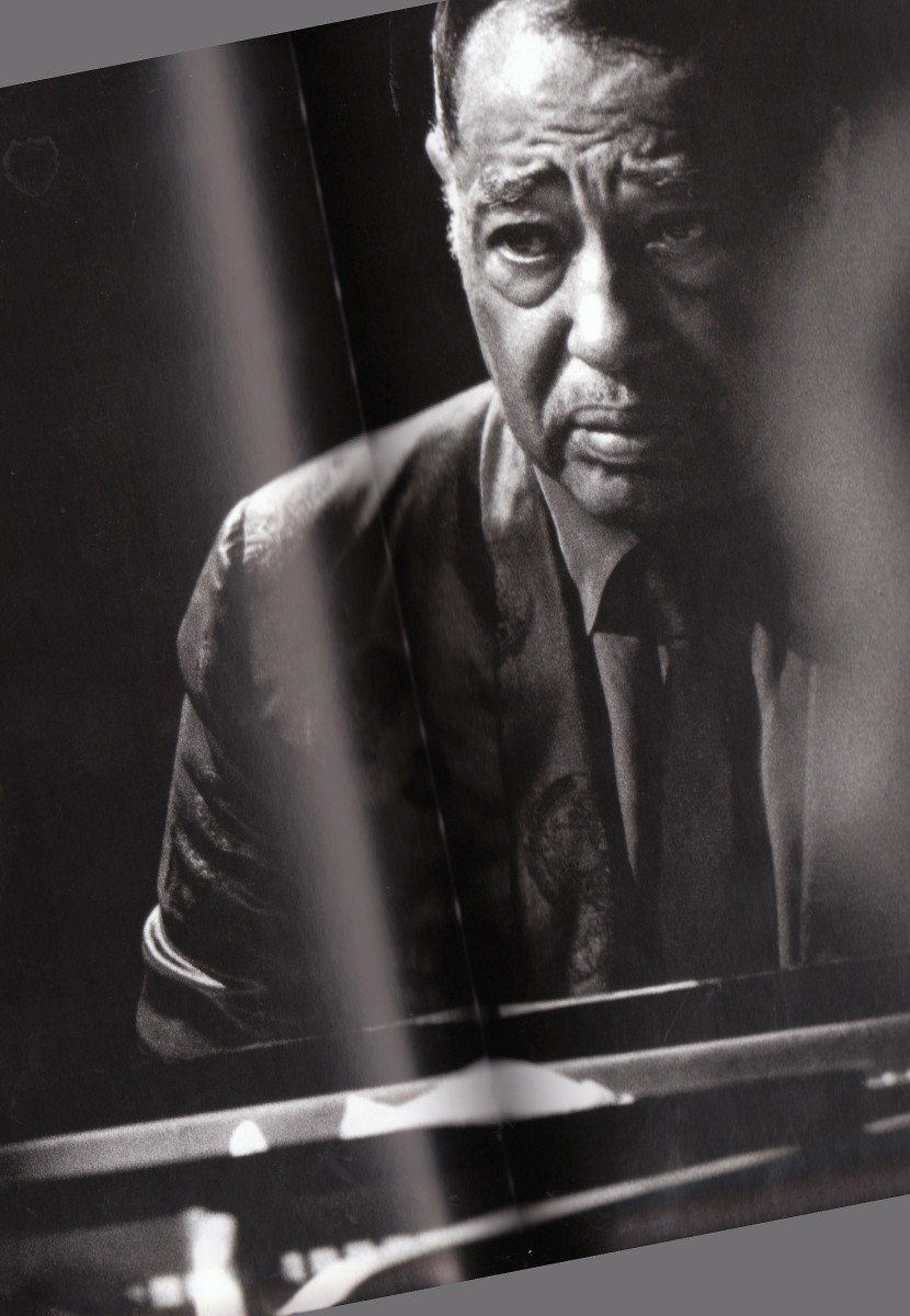 Duke Ellington at the  Monterey Jazz Festival, 1966.