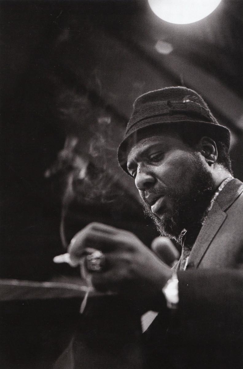 Monk at the Columbia Records' recording studio, New York, 1963.