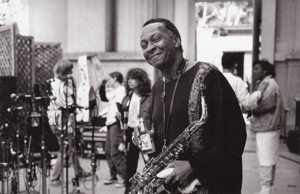 Frank Morgan at the UC Jazz Festival, Berkeley, 1980s, 1980s.