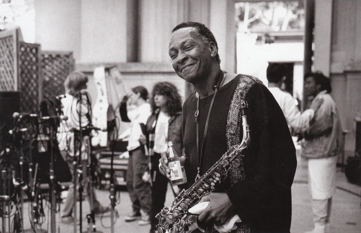 Frank Morgan at the UC Jazz Festival, Berkeley, 1980s, 1980s.