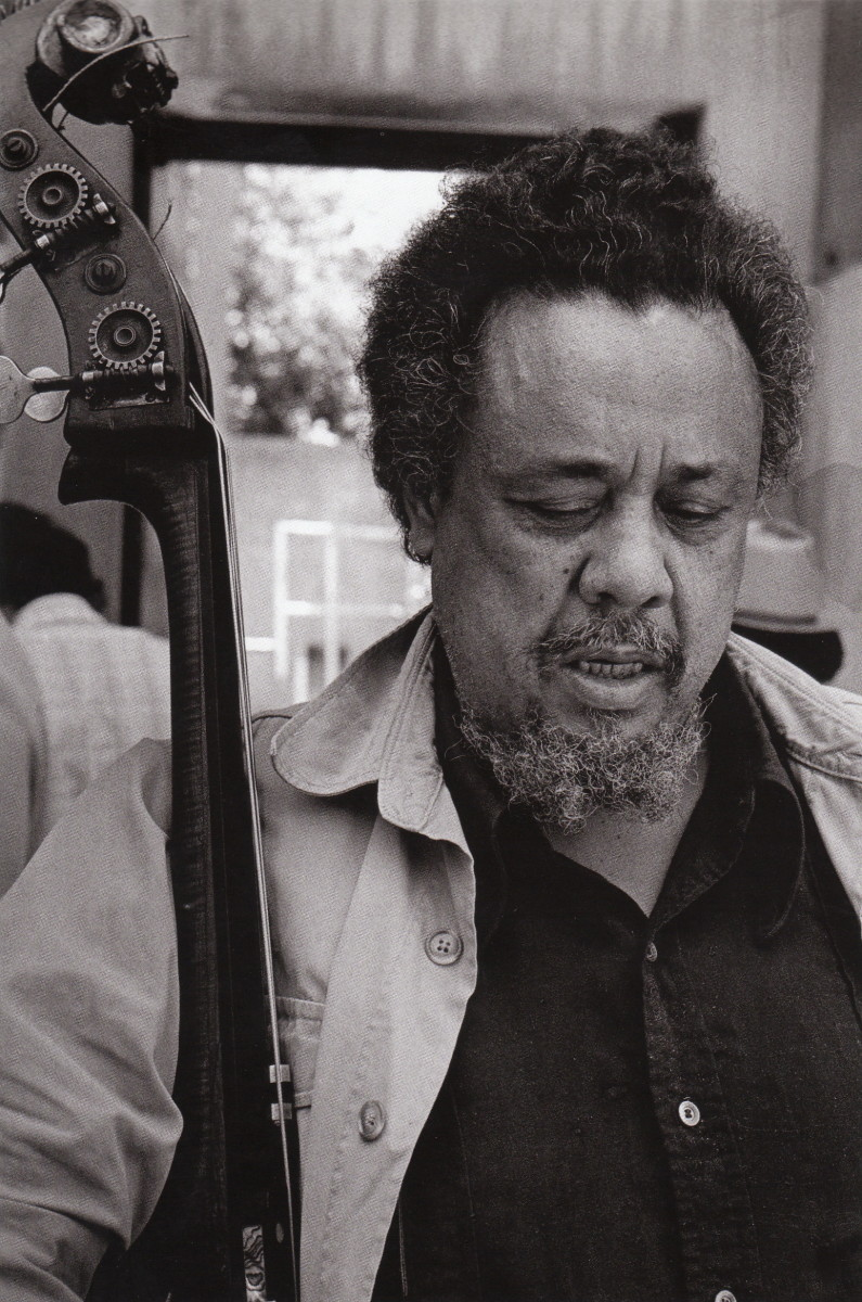 Mingus at the UC Jazz Festival at the greek Theater, Berkeley, 1966.