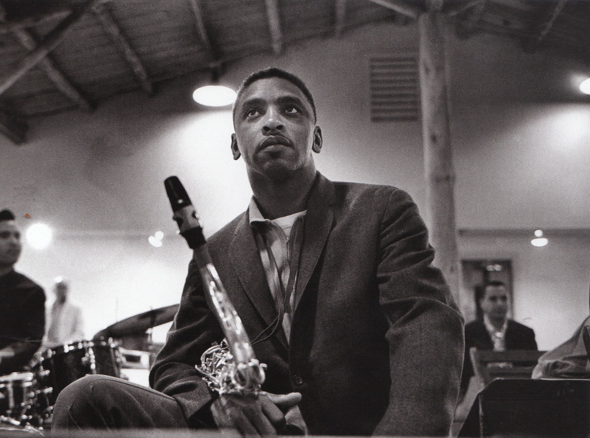 Teddy Edwards at the Monterey Jazz Festival, 1964.