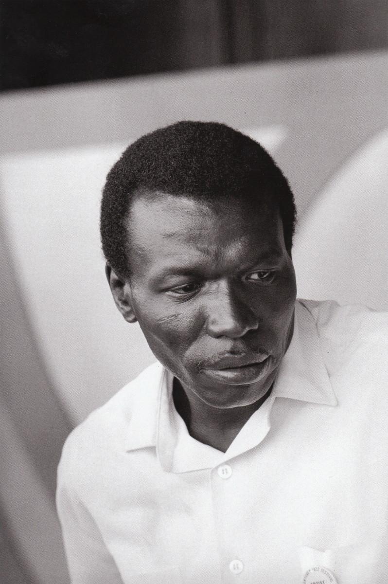 Elvin Jones at the Monterey Jazz Festival, 1966.