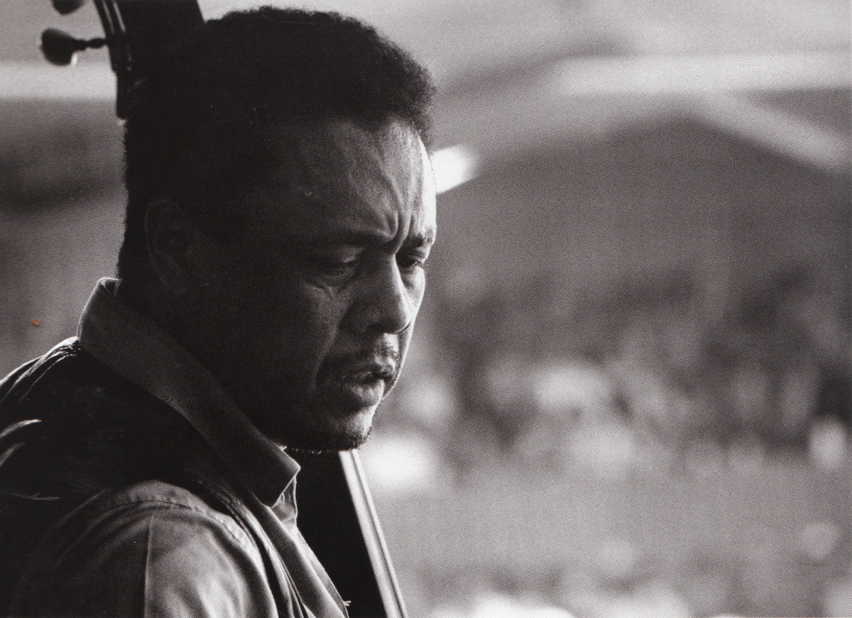 Mingus at the Monterey Jazz Festival, 1964.