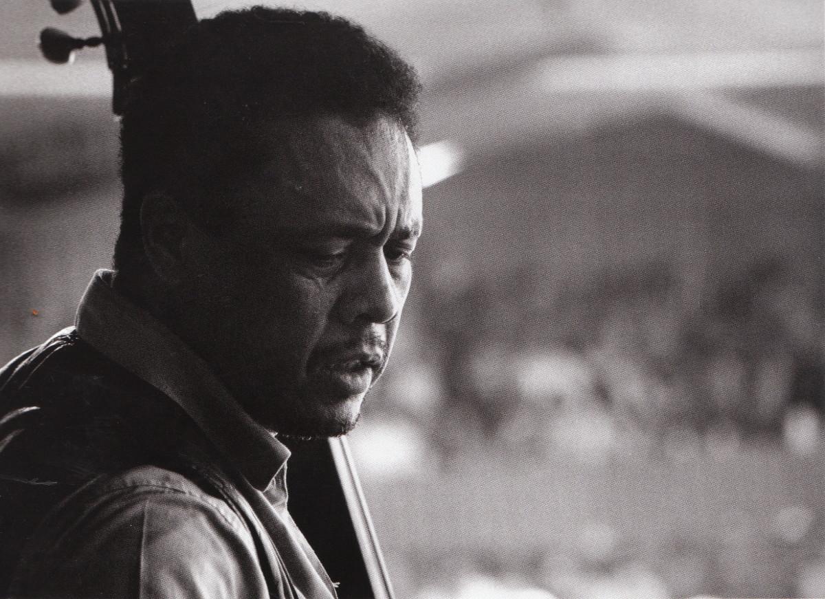 Mingus at the Monterey Jazz Festival, 1964.