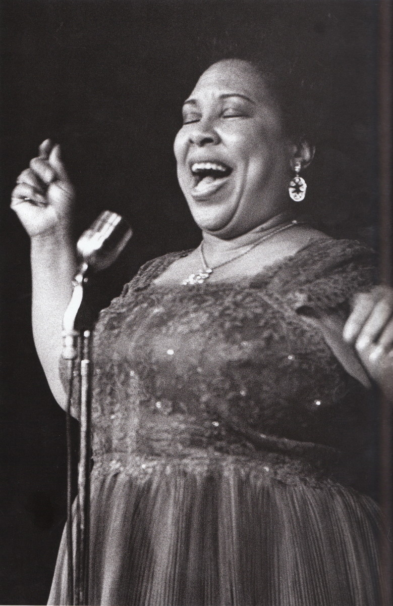 Helen Humes at the Jazz Workshop, San Francisco, 1959 or 1960.