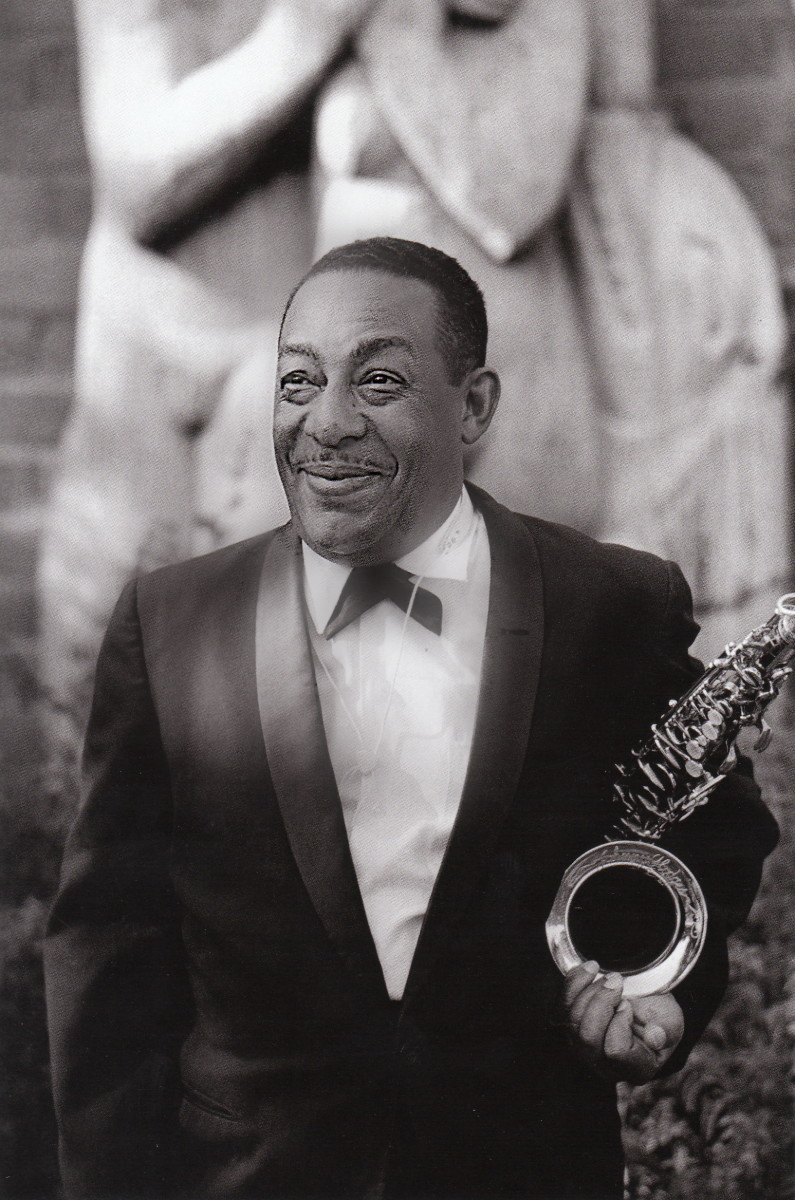 Johnny Hodges at the Monterey Jazz Festival, 1960.