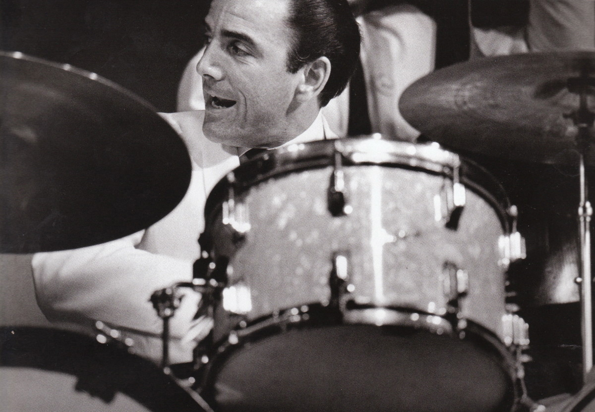Louie Bellson at the Monterey Jazz Festival, 1966