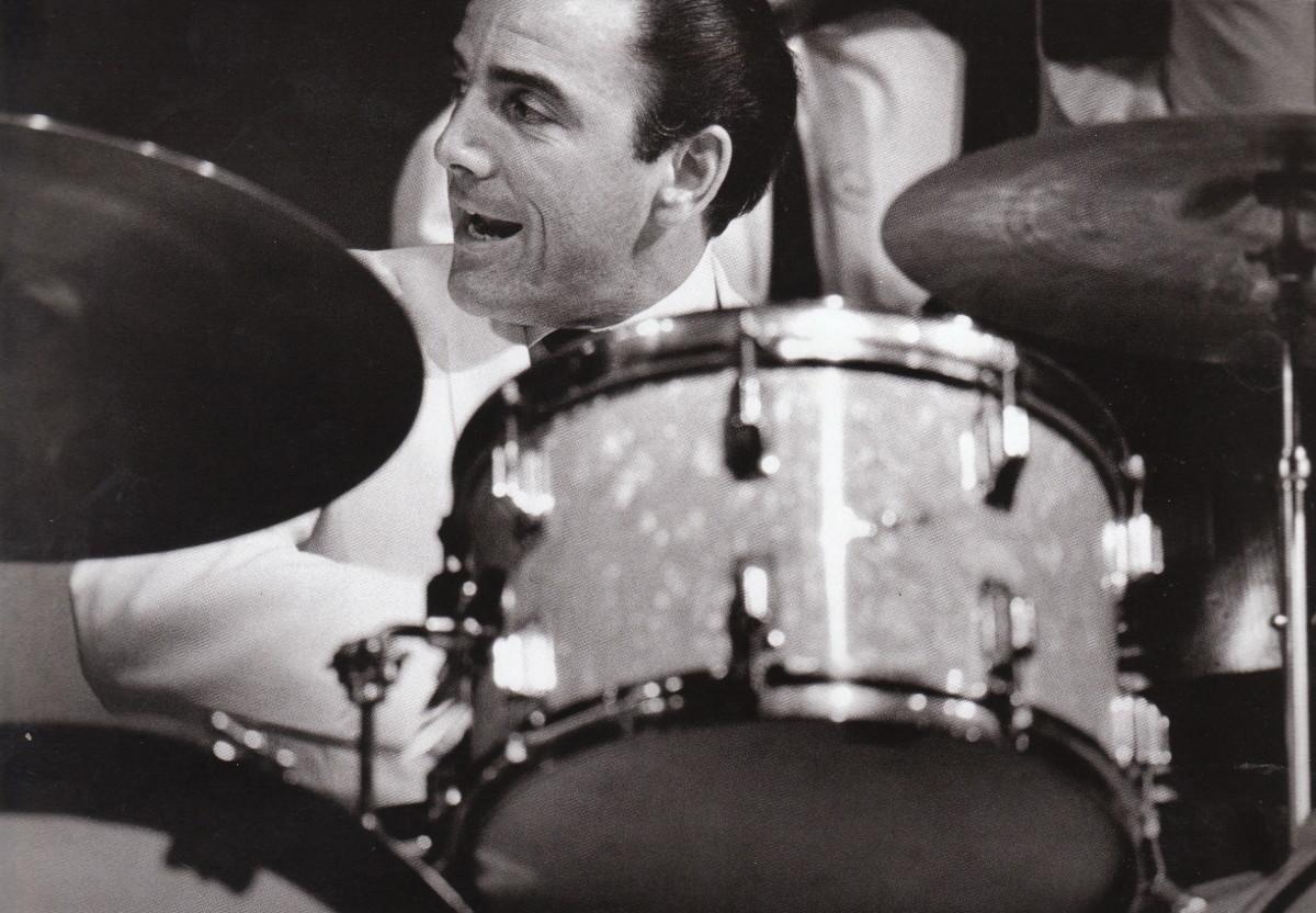 Louie Bellson at the Monterey Jazz Festival, 1966