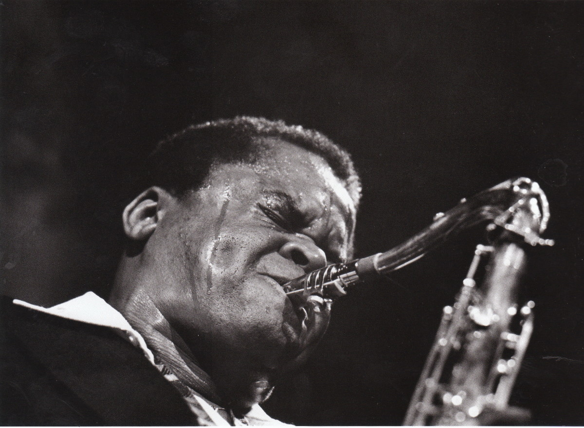 Stanley Turrentine at the Great American Hall, San Francisco, early 1980s.