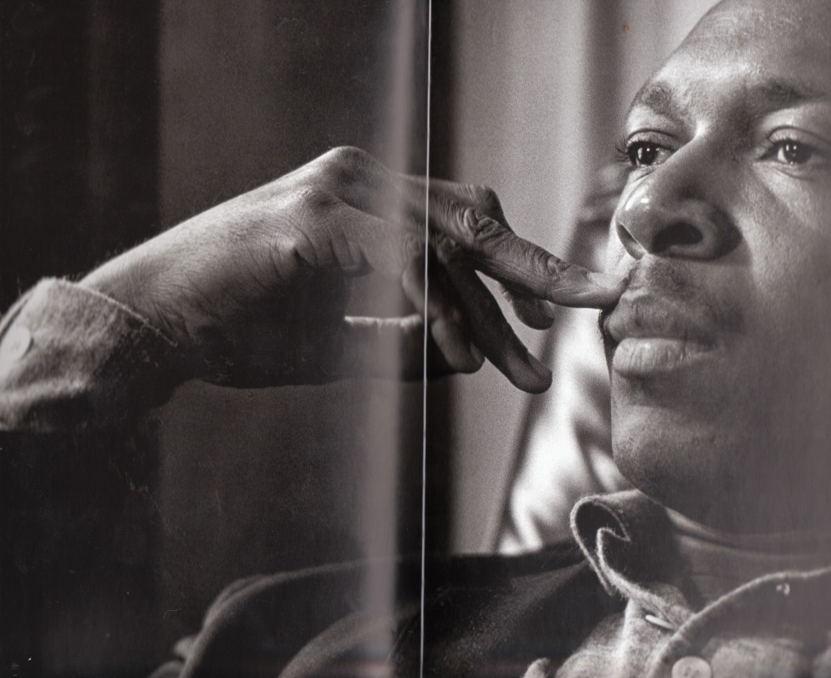 John Coltrane taken at the home of Ralph Gleason, the late Chronicle jazz critic in 1960.