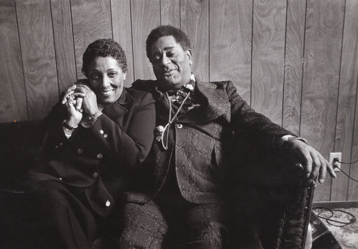 Carmen Mcrae in the dressing room, in the basement and was recording a live Album with Dizy Gillespie at the Great American Music Hall in San Fancisco, 1976.