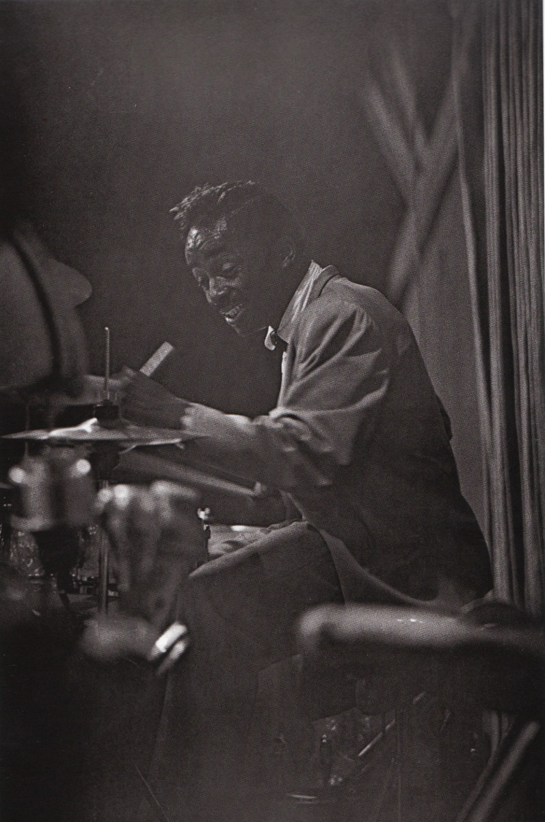 Sonny Payne at the Longshoremans Hall, San Francisco, 1960.