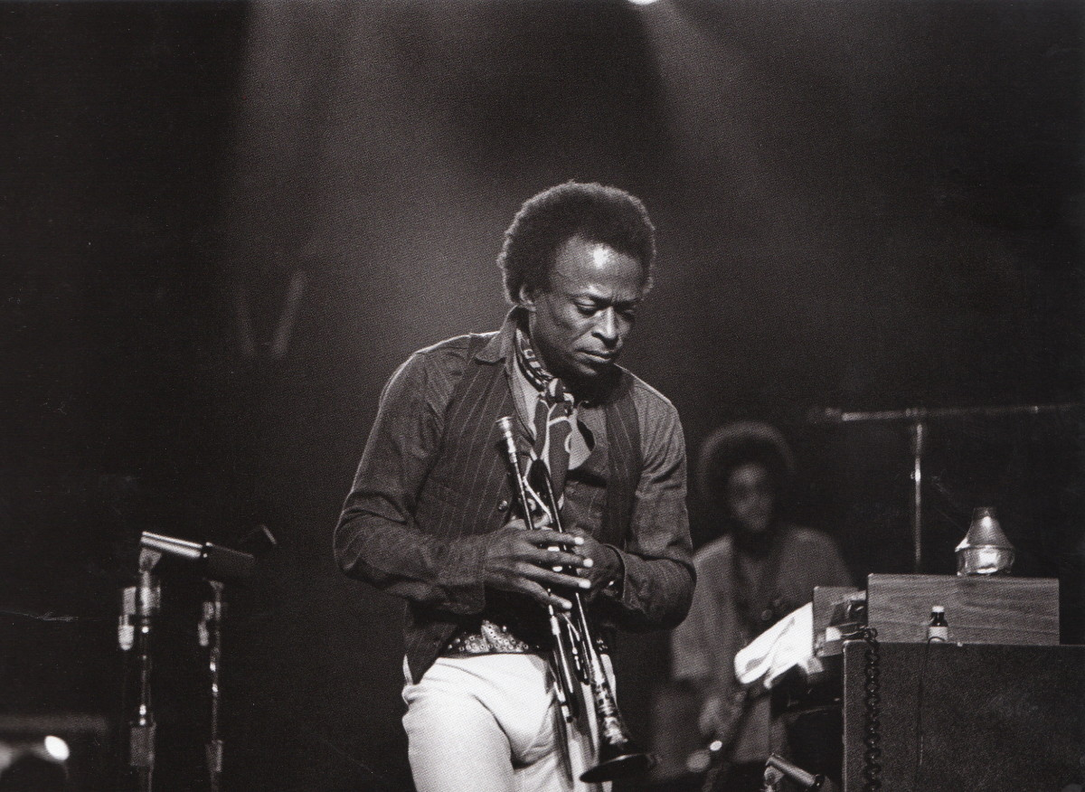 Miles at Winterland, San francisco, 1971.
