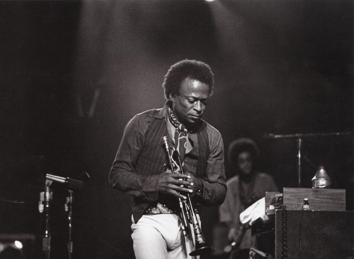 Miles at Winterland, San francisco, 1971.