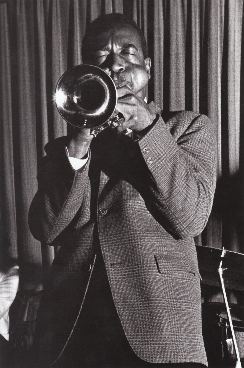 Blue  Mitchell at the Black Hawk, San Francisco,1960.