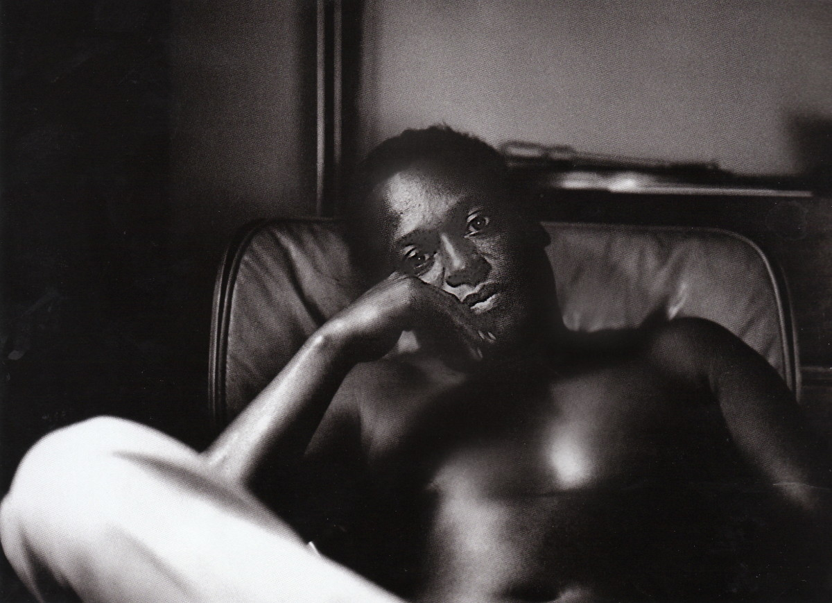 Miles Davis in his New York City apartment. 1963.