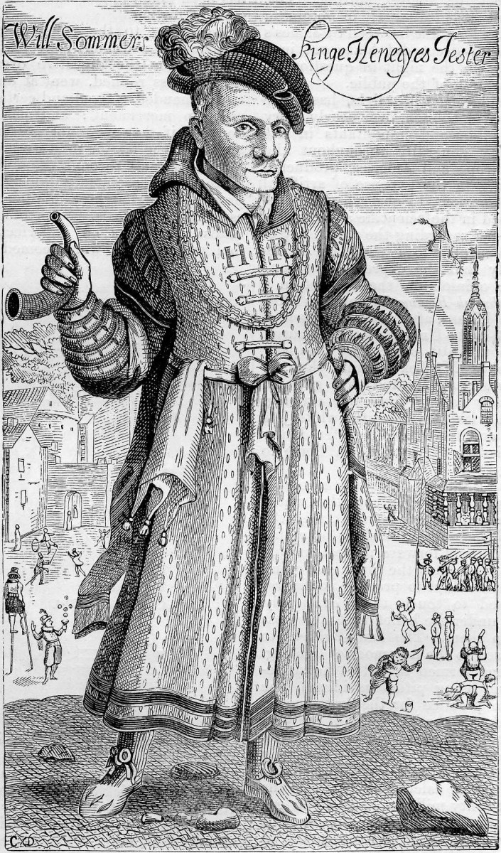 WILL SOMMERS THE COURT JESTER OF HENRY VIII