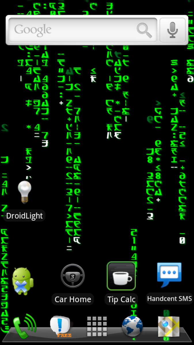 The Matrix (running on HelixLauncher 2)