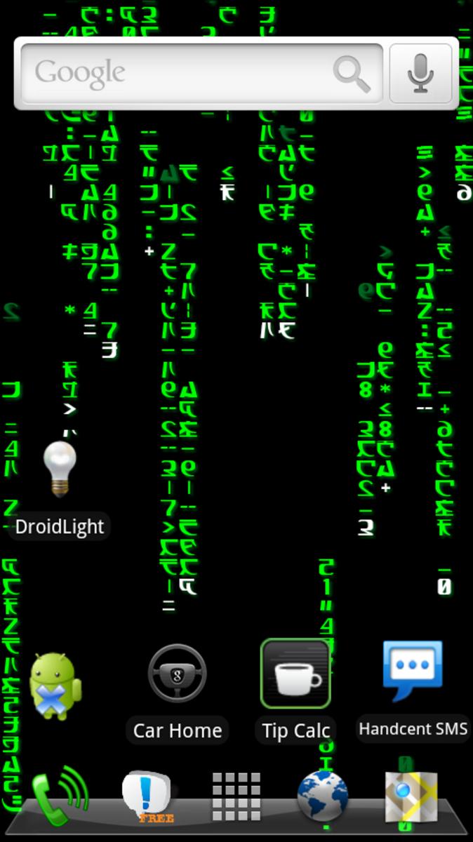 The Matrix (running on HelixLauncher 2)