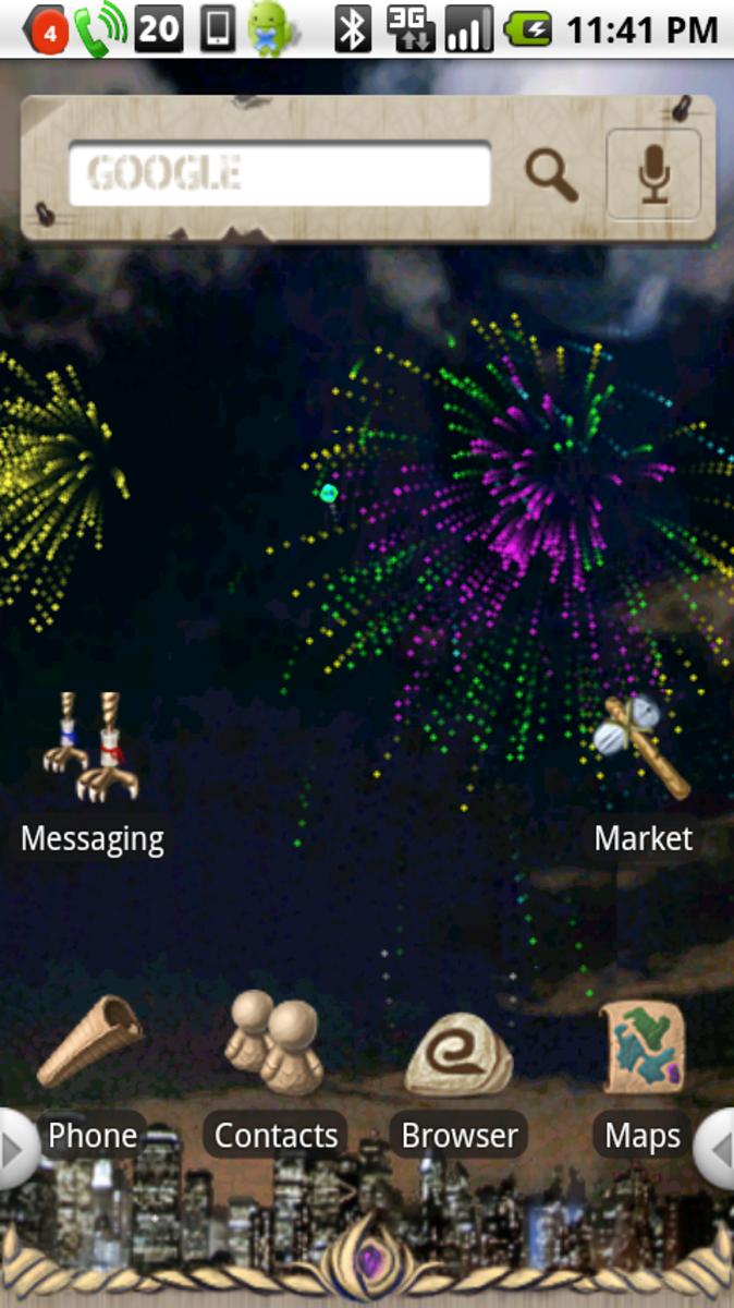 Fireworks (running on PandaHome)