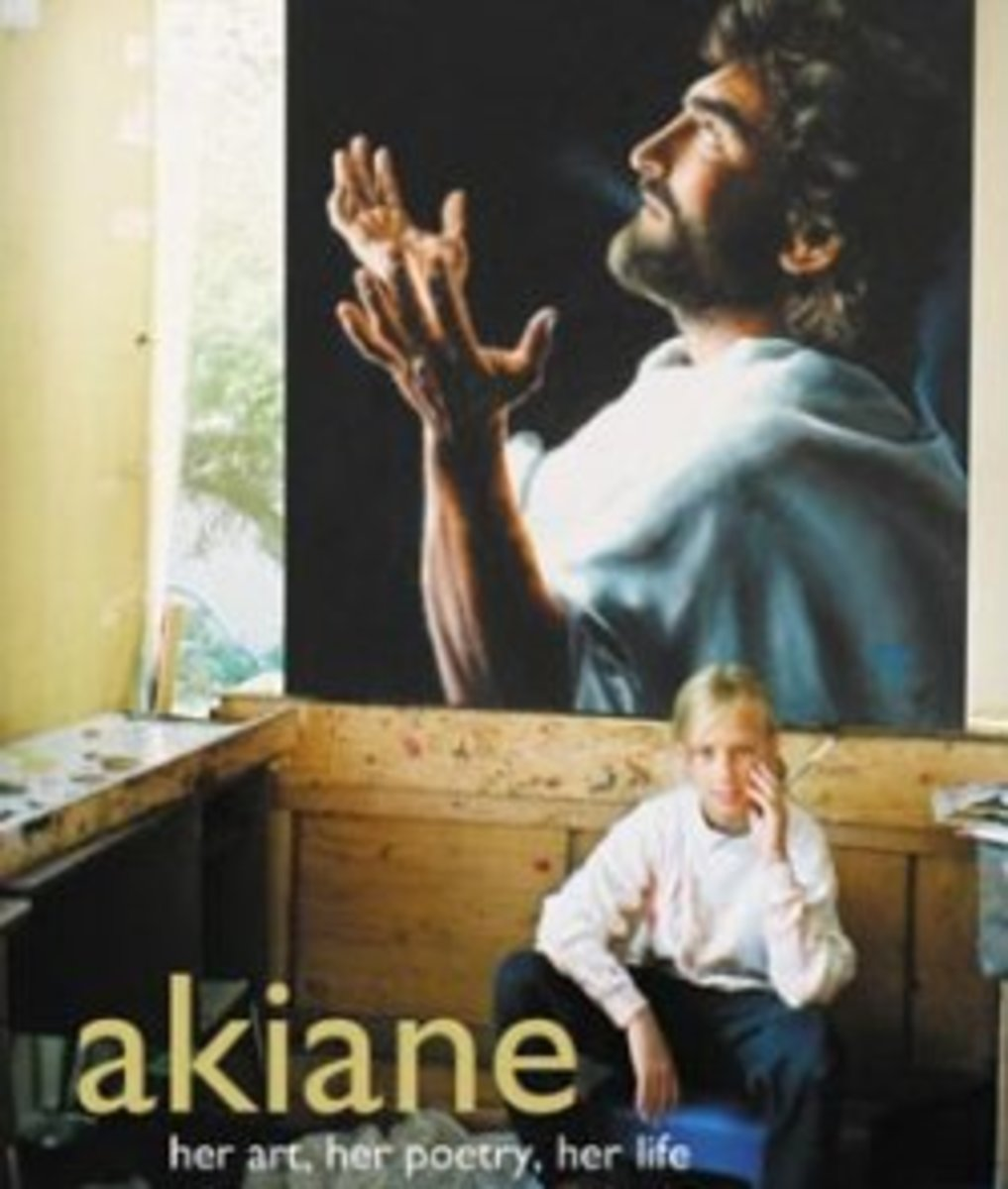 Akiane the young artist who draws her inspiration from God and paints God and heaven