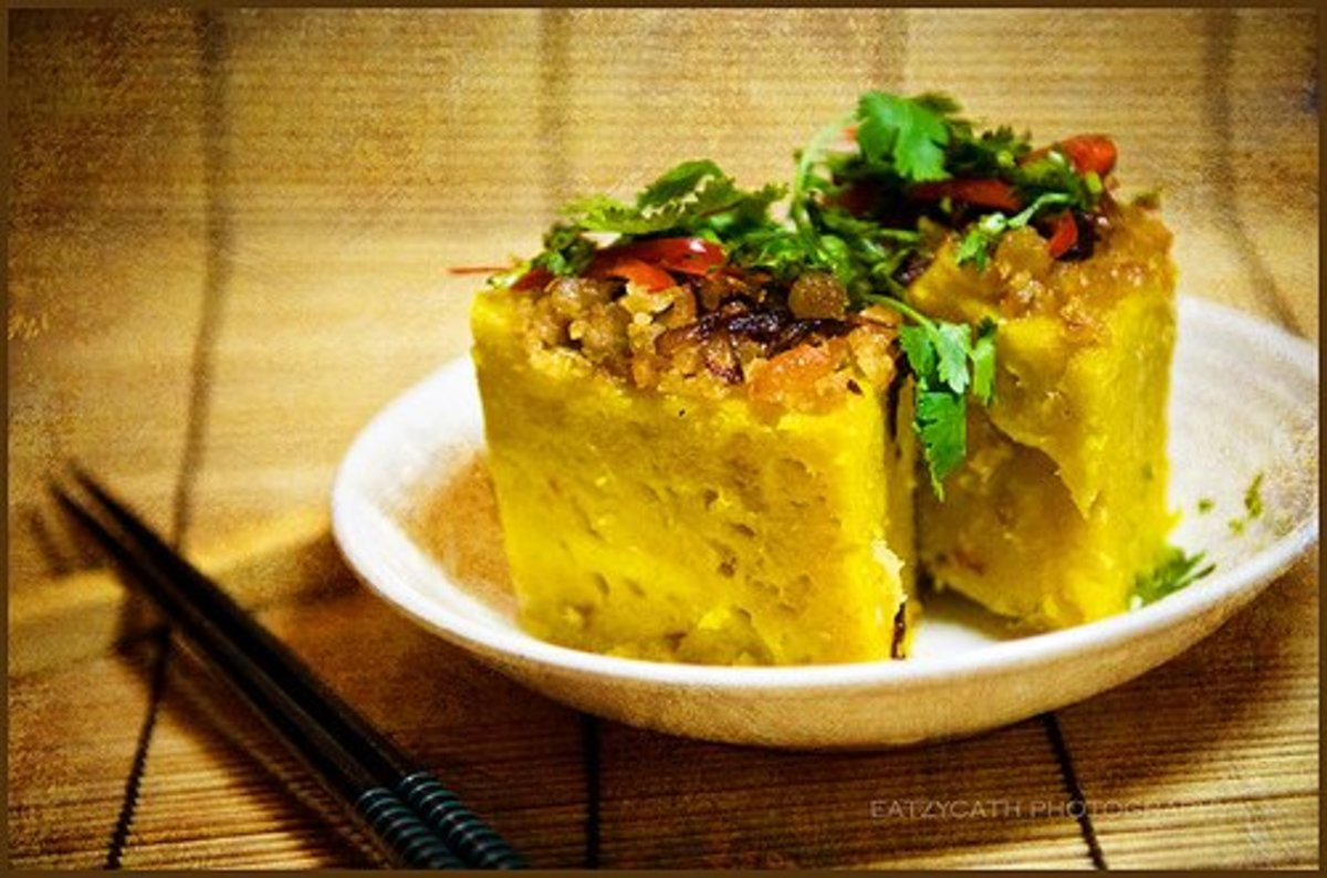 Savoury Steamed Pumpkin Cake Recipe –  sugar-free, dairy-free and gluten-free !