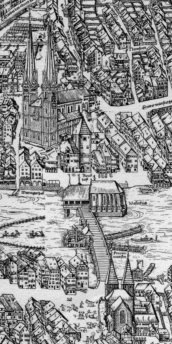 ZURICH, SWITZERLAND IN THE 16TH CENTURY