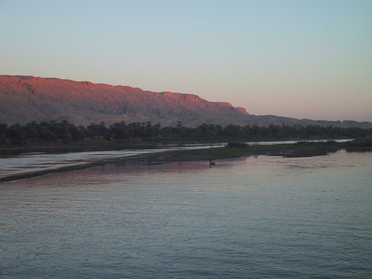A beautiful view of River Nile.