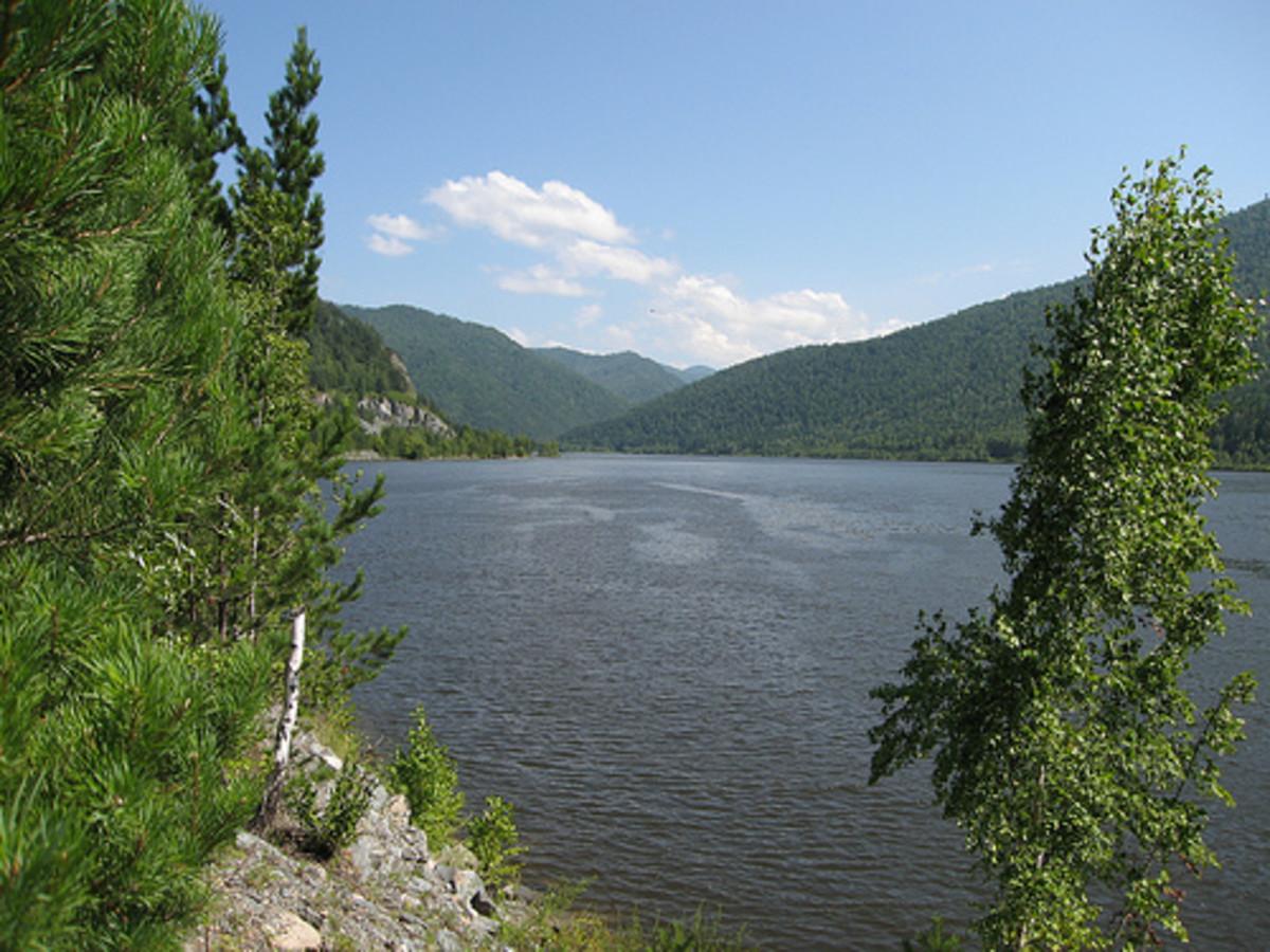 River Yenisei.