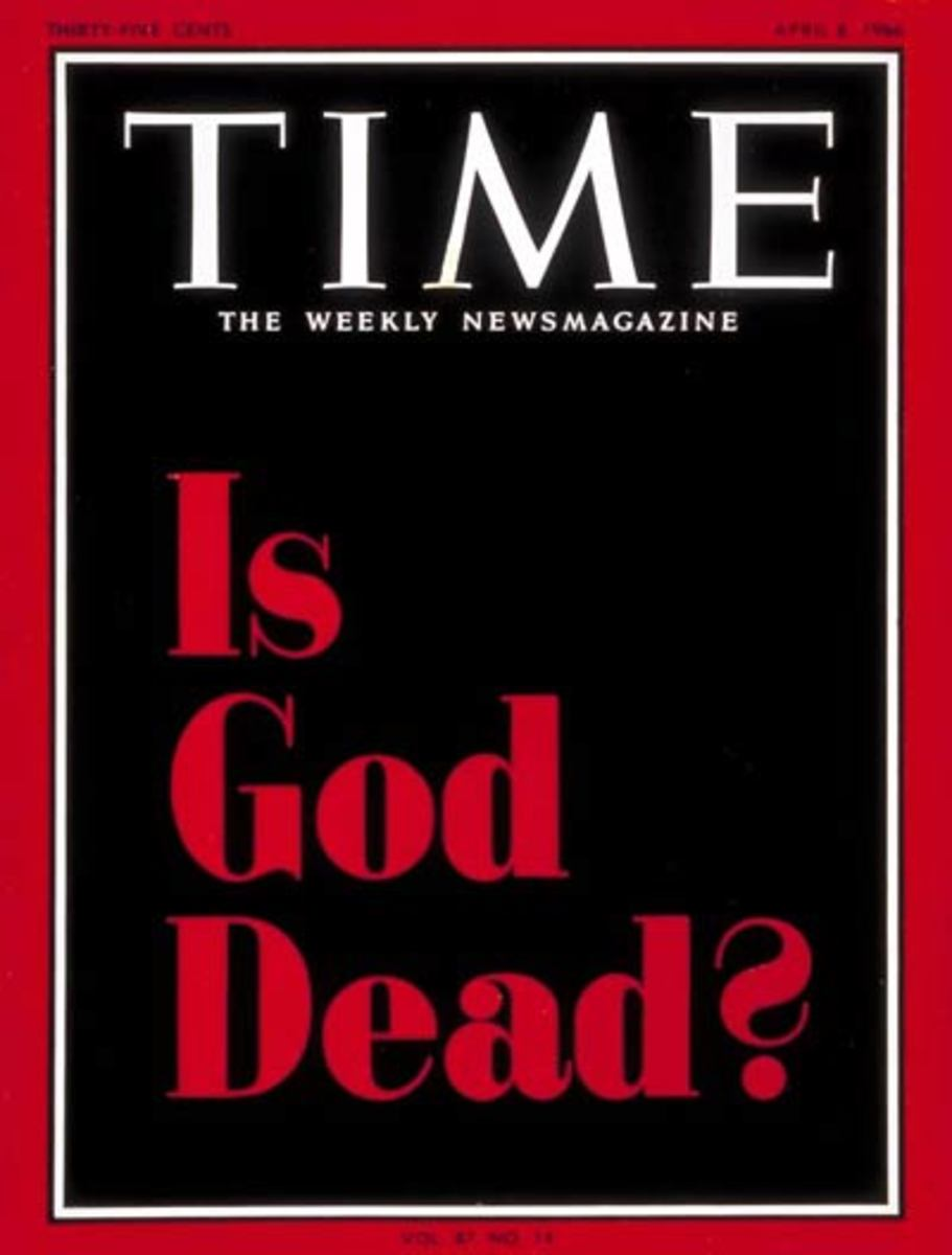 Famous Time magazine cover from 1966