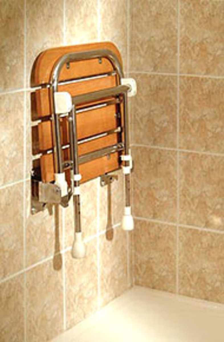 Have You Installed a Folding Shower Seat in your Bathroom?