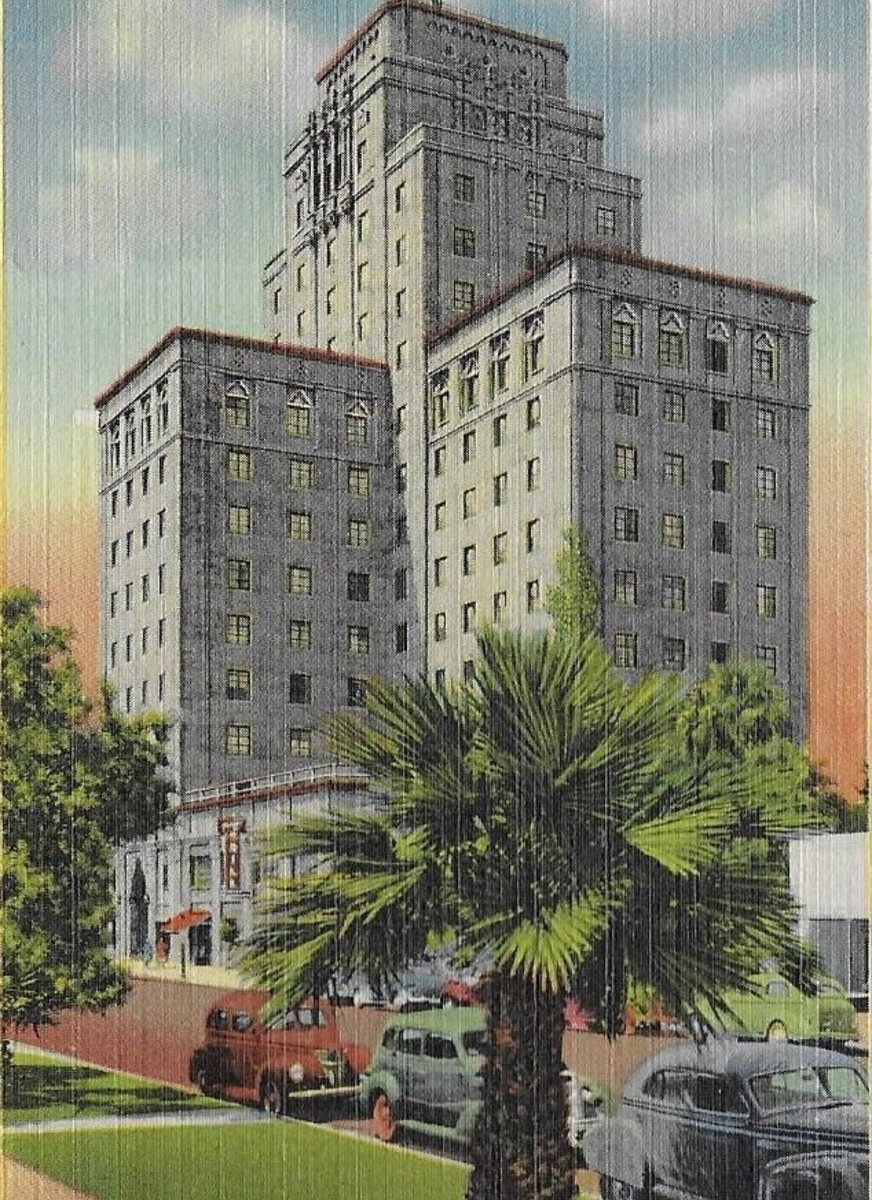 The Westward Ho Hotel built in 1928 in Phoenix Arizona: A Colorful History and an $18 million dollar transformation.