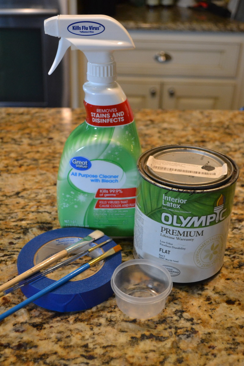 You may already have many of the supplies needed in your kitchen cabinets or your garage.