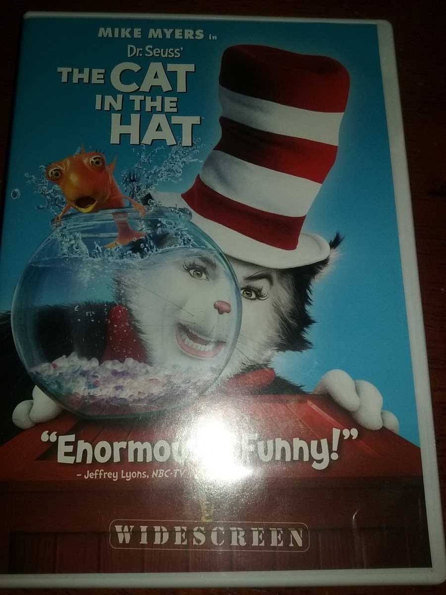 Movie Review for the Cat in the Hat the Movie (2003 Movie)