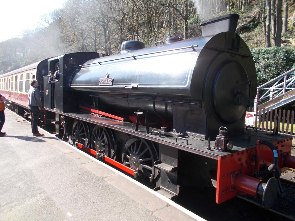 Steam Engine 'Repulse'
